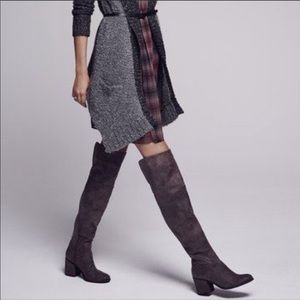 HINGE {Nordstrom} Canton Over the Knee brown boots